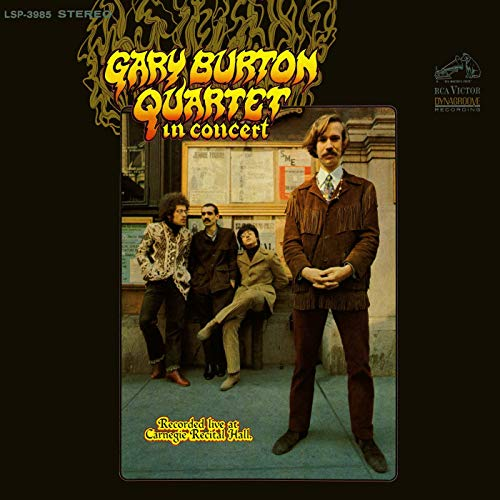 burton in concert album